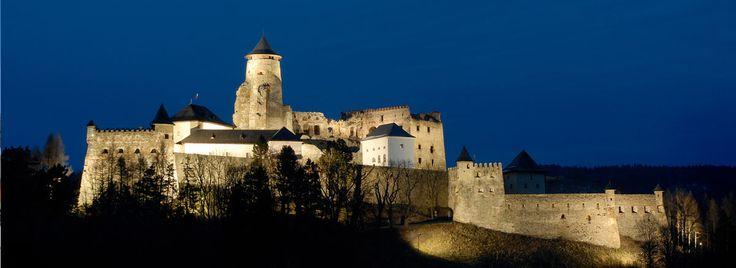 Strara Lubovna Castle. Slovakia