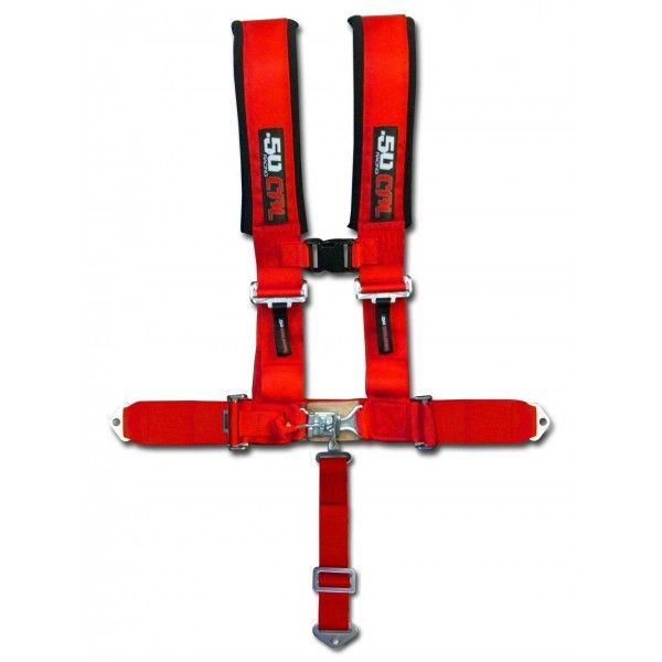 """3"""" 5 POINT HARNESS SEAT BELT - 50 CAL RACING"""