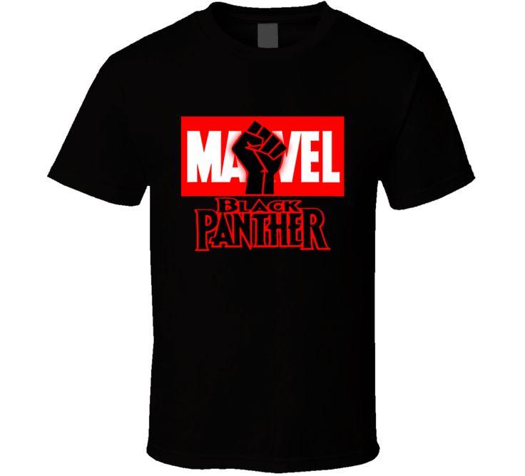Marvel Black Panther Movie Black Lives Matter Black Power T Shirt