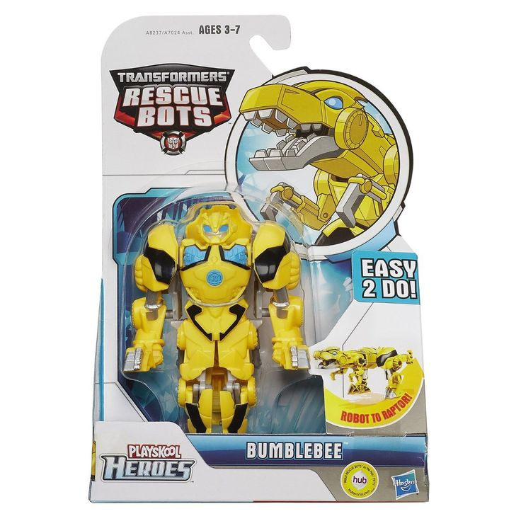 PLAYSKOOL Heroes Transformers Rescue Bots Roar and Rescue Bumblebee Figure - Discount Toys USA