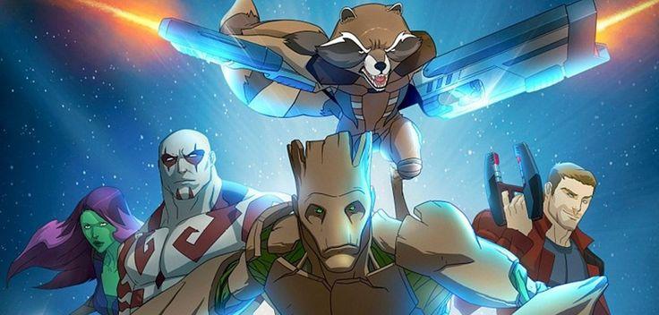 A série animada dos Guardiões da Galáxia estreou no último sábado no canal Disney XD