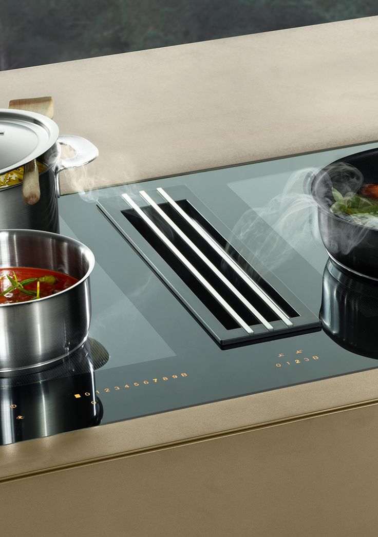 68 Best Kitchen Downdraft And Hobs With Extraction Fan