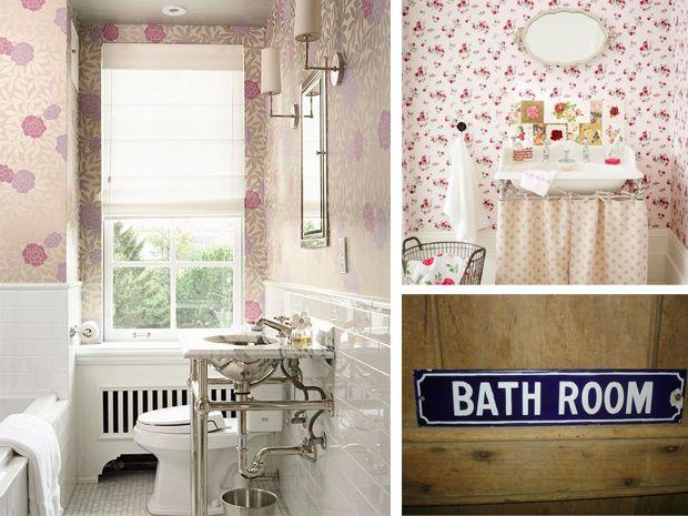 il vintage nellarredo bagno