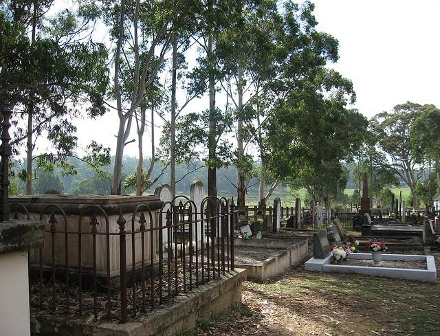 Ebenezer Cemetery, Coromandel Road, Ebenezer NSW Australia.  Coromandel was the name of the ship that brought our families to Australia to settle here in Windsor area NSW