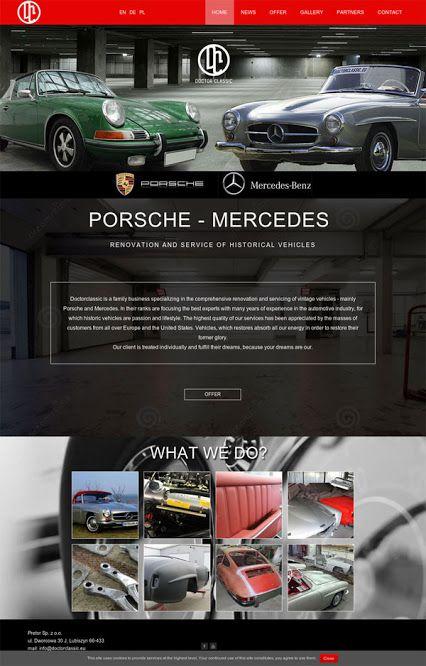 Doctor Classic  www.doctorclassic.eu #porsche #mercedes #vintage #renovation @911 #service #webdesign