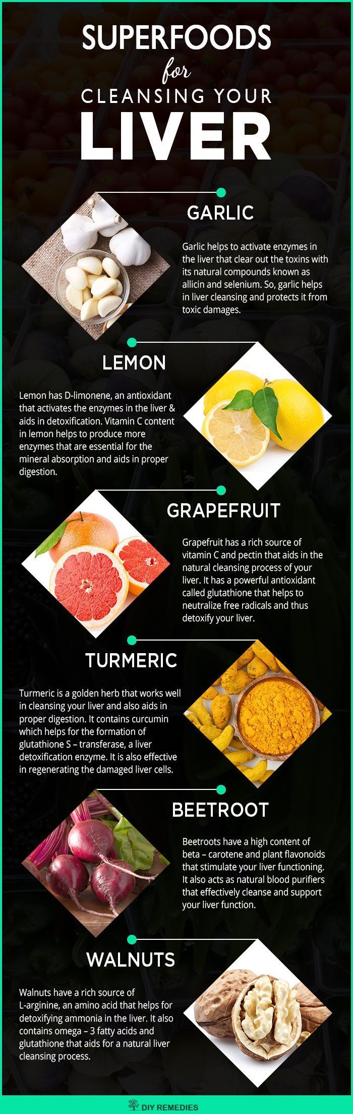 Best Liver Cleansing Superfoods Here is the list that covers the best superfoods...
