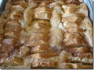(3-4 Stayman) Grandma's Dutch Apple Cake