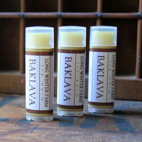 Baklava Lip Balm - Long Winter Soap Co.