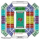 Tampa Bay Buccaneers vs New Orleans Saints 2 Tickets Together Nov 13 Tampa
