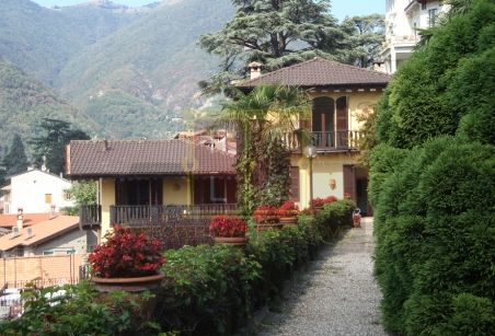 #PeriodVilla built in 13th century is available for sale at #Torno, #LakeComo