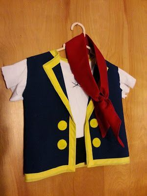 Toddler Jake & the Neverland Pirates costume #diypiratecostumeforkids Toddler Ja…