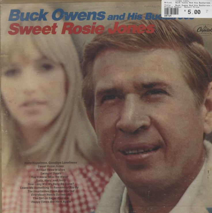 Buck Owens And His Buckaroos - Sweet Rosie Jones