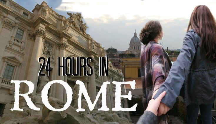 How to spend 24 HOURS IN ROME!  A day in the life video of a world traveler.