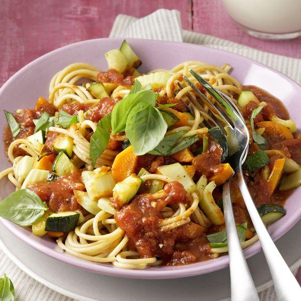 Mmmm, spaghetti met groentesaus #vega #PowerStart #WeightWatchers #WWrecept