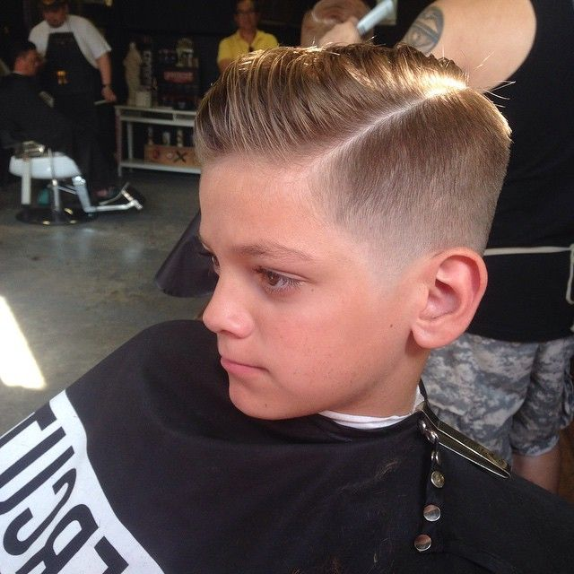 Comb Over Fade For Little Boys 91347 Loadtve