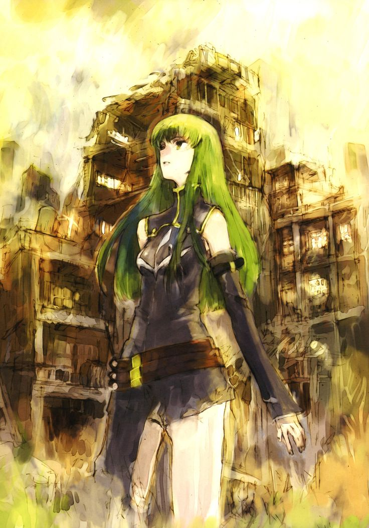 toi8, Lelouch of the Rebellion, Code Geass Illustrations Relation, C.C.