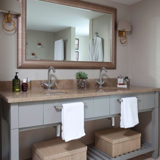 14 best images about home decor his and hers on for Main bathroom ideas