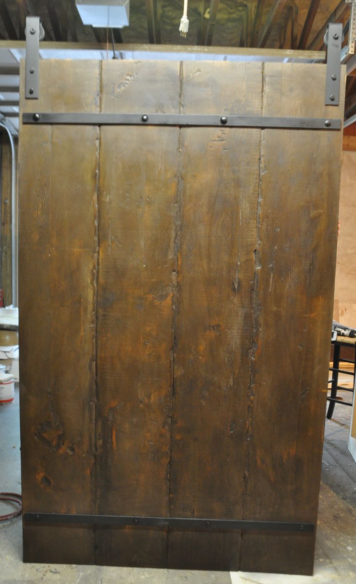 101 best images about barn doors on pinterest base for Metal barn doors