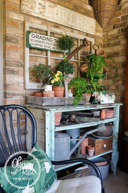 Oliver and Rust: Outdoor Living at home