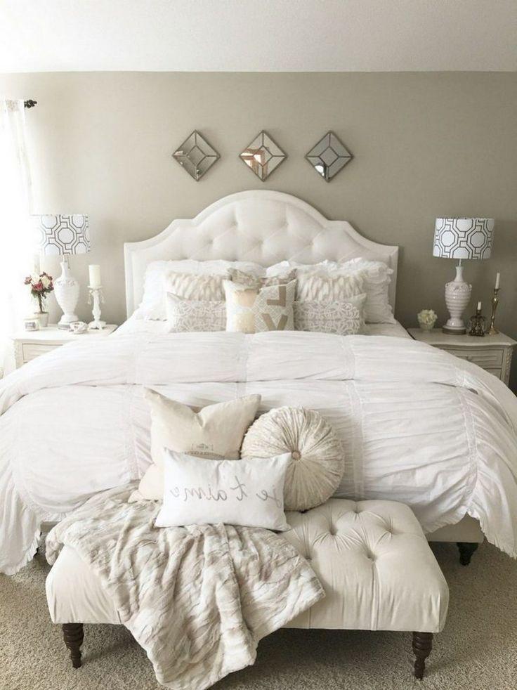 30 Endearing French Country Bedroom Decor Thatll Inspire You Landliche Schlafzimmer Hauptschlafzimmer Einrichtungsideen Schlafzimmer