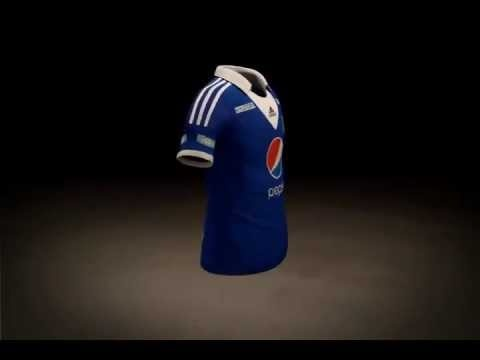 Camiseta Adidas Millonarios F.C 2013