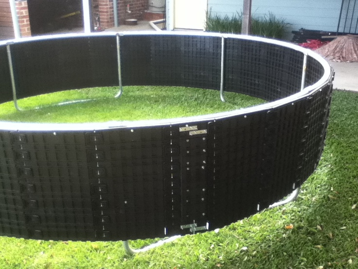 Trampolines in the ground for the home pinterest the for How to put a trampoline in the ground