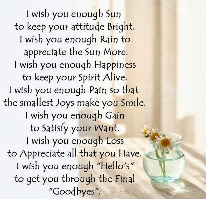 Wish Quotes 8 Best I Wish You Enough Images On Pinterest  I Wish You Enough .