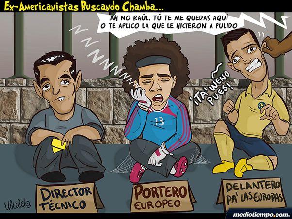 Ex americanistas buscan trabajo - Ubaldo -