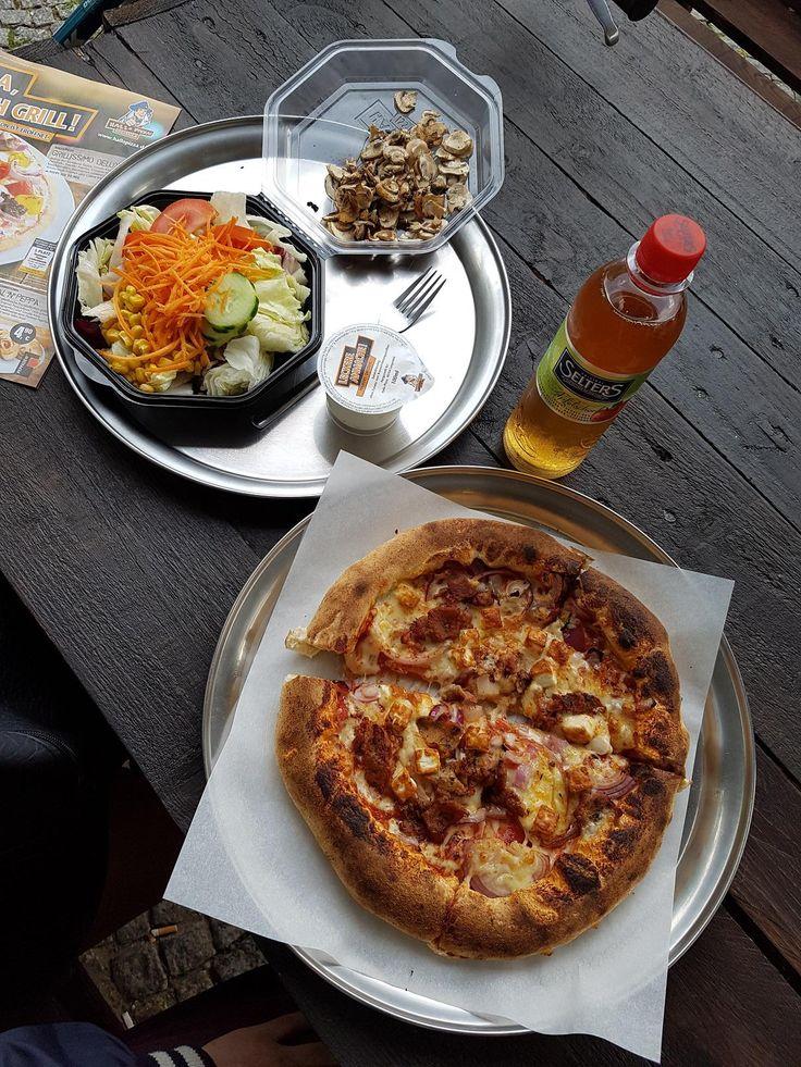 Kalorien salat hallo pizza