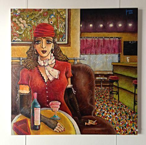Jerome, Bar scene 2016 on ArtStack #jerome #art