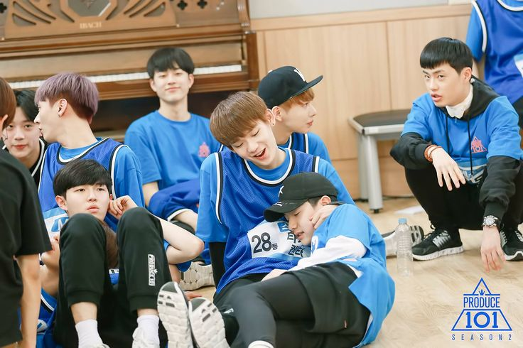 produce 101 season 2 takada kenta lee woojin kim jaehwan