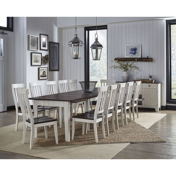 Tessa 8-piece Solid Wood Dining Set