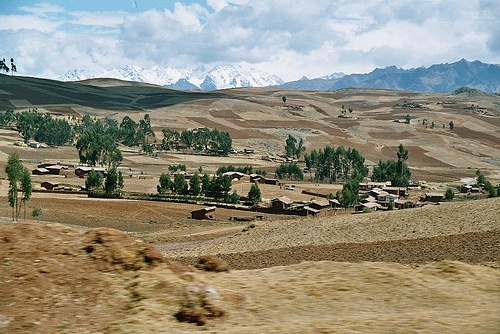 outback of Cusco, Peru (analog photography)