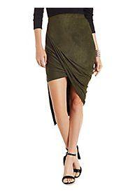 how to wear asymmetrical skirt