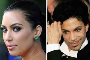 The Time Prince Kicked Kim Kardashian Off His Stage Was So Iconic