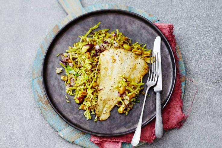 12 Februari 2017 - Schelvisfilets + rode uien in de bonus = wissel vlees ook eens in voor vis, een bron van eiwitten. - Recept - Allerhande