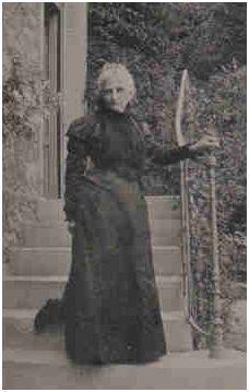 """Blanche Staffe 1845-1911, auteure du best seller """"Usages du Monde"""", le manuel de savoir vivre le plus lu en France au XIXème siècle."""