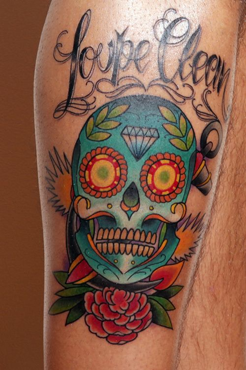 37 best clean skull tattoos images on pinterest cool for Clean rock one tattoos