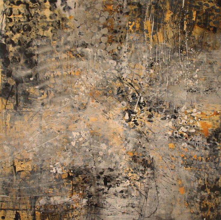 WILD 2 - Acrylic/Panel 122x122 cm. 2014 zinniaclavo.com