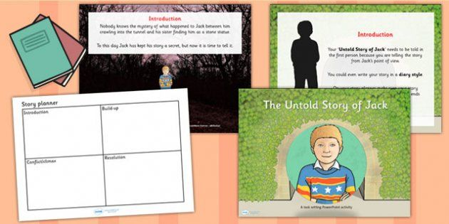 The Tunnel Anthony Browne Task Setter Powerpoint Activity Pack