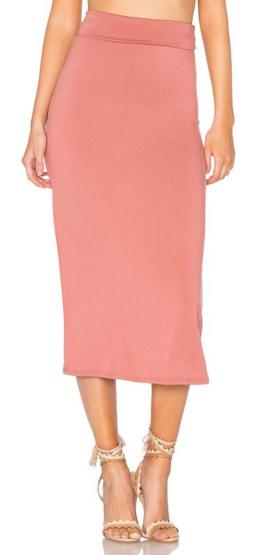 """Convertible Skirt by Rachel Pally. 92% modal 8% spandex. Dry clean recommended. Unlined. Jersey knit fabric. Skirt measures approx 32"""""""" in length. RACH-..."""