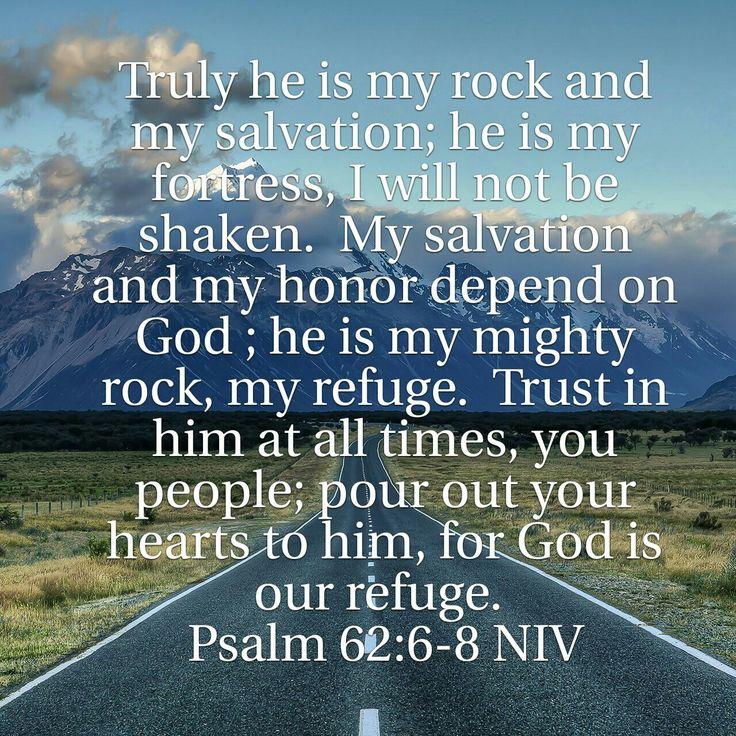 Psalm 62:6-8