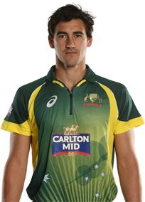 Mitchell Starc      Role: Bowler    Bats: LHB    Bowls: LB    Date of Birth: 30 Jan 1990    He made his ODI debut for Australia against India in Visakhapatnam in October 2010, with just one season of Sheffield Shield cricket under his belt.