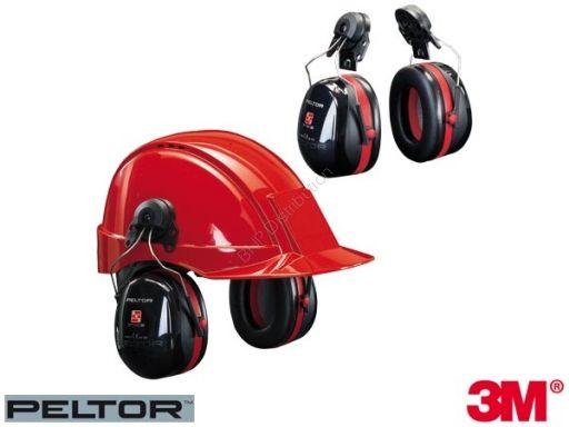 NAUSZNIKI PRZECIWHAŁASOWE NA HEŁM 3M-OPTIME3-H - Odzież robocza, obuwie, apteczki, gaśnice, szelki bezpieczeństwa i in.