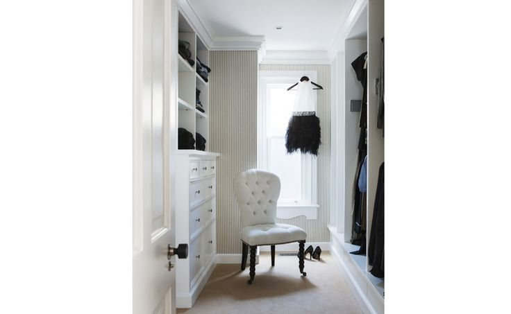 Elegantly styled furnishings using neutral tones of black and white by Coco Republic Interior Design #cocorepublic #interiordesign #styling #wardrobe #classic #contemporary #fashion #luxury #monochrome #blackandwhite