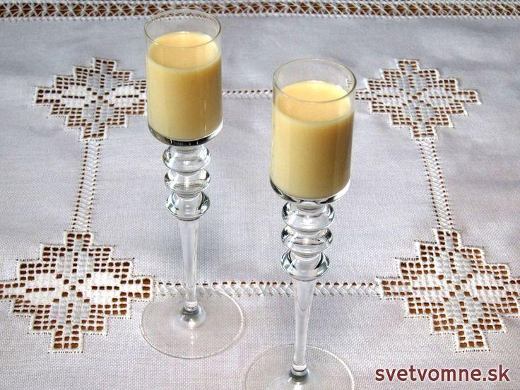 Kokosovo vaječný likér, recept