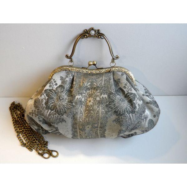 Bolso cluth: Brocado de seda Vintage - LolitaSalá Tienda