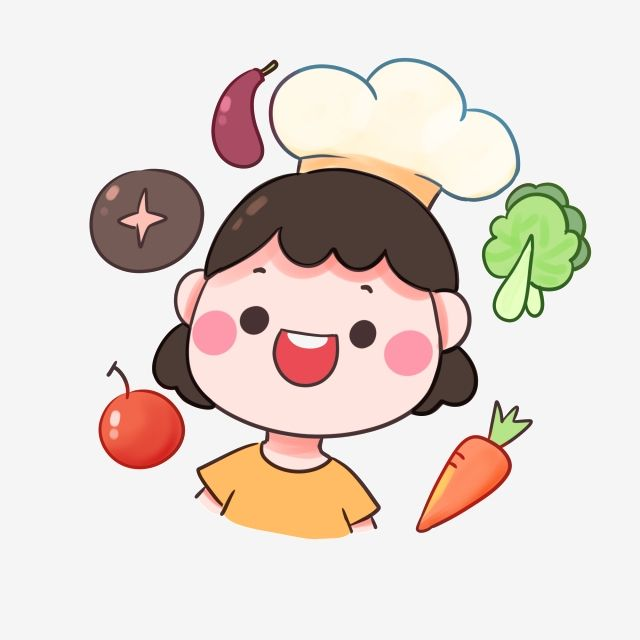 Happy Happy Little Chef Hand Drawn Elements Chef Hat Chef Vegetable Png Transparent Clipart Image And Psd File For Free Download How To Draw Hands Cartoon Clip Art Happy Cartoon