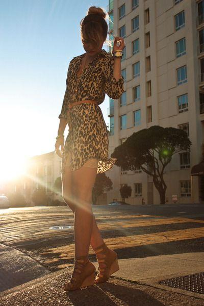 Balmy summer eveningFashion Style, Animal Prints Dresses, Dresses Shoes, Leopards Prints Dresses, Fashion Looks, Fashion Bloggers, Leopard Prints, Cheetahs Prints, Leopards Dresses