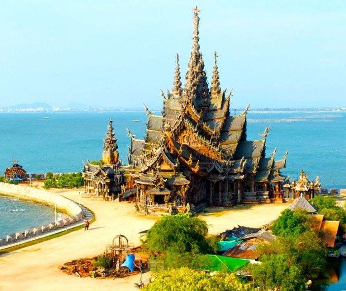 Le sanctuaire de la vérité à Pattaya : la magnificience du Paradis